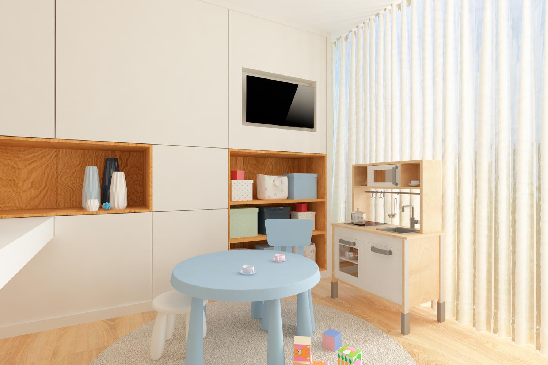 transformação de arquitetura de interiores
